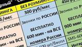 """Tele2 тарифы """"Черный"""" 4G без Роуминга"""