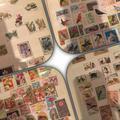 Альбом с почтовыми марками